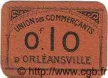 10 Centimes ORLEANSVILLE ALGÉRIE  1915 JPCV.11 SUP