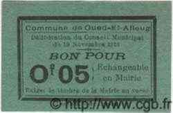 Bon Pour 5 Centimes ALGÉRIE  1916  NEUF