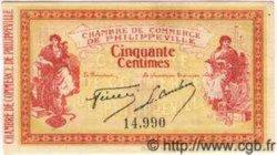 50 Centimes ALGÉRIE Philippeville 1914 JP.142.01 SUP