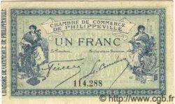 1 Franc PHILIPPEVILLE ALGÉRIE  1914 JP.142.02 SPL