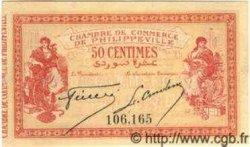 50 Centimes PHILIPPEVILLE ALGÉRIE  1914 JP.142.03 NEUF