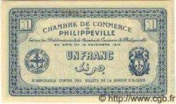 1 Franc ALGÉRIE Philippeville 1914 JP.142.04 NEUF