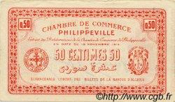 50 Centimes PHILIPPEVILLE ALGÉRIE  1914 JP.142.05 SUP+