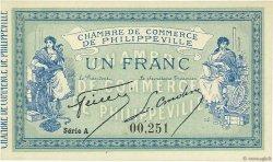 1 Franc ALGÉRIE Philippeville 1914 JP.142.06 NEUF