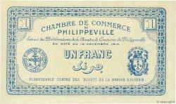 1 Franc PHILIPPEVILLE ALGÉRIE  1914 JP.142.06 NEUF