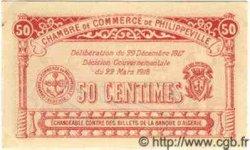 50 Centimes ALGÉRIE Philippeville 1917 JP.142.08 NEUF