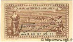 1 Franc PHILIPPEVILLE ALGÉRIE  1917 JP.142.09 NEUF