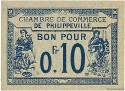 10 Centimes ALGÉRIE Philippeville 1915 JP.13 NEUF