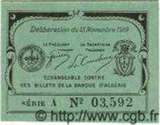 10 Centimes PHILIPPEVILLE ALGÉRIE  1919 JP.15 NEUF