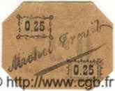 25 Centimes ALGÉRIE  1916  NEUF