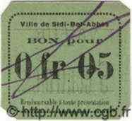 5 Centimes ALGÉRIE Sidi-Bel-Abbes 1915  NEUF