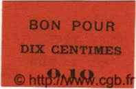 10 Centimes TENES ALGÉRIE  1915 JPCV.03 SPL