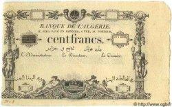 100 Francs ALGÉRIE  1851 P.-- SPL