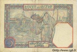 5 Francs ALGÉRIE  1933 P.003