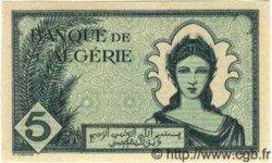 5 Francs ALGÉRIE  1942 P.004 NEUF