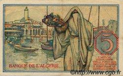 5 Francs ALGÉRIE  1944 P.094a TTB+