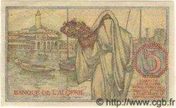 5 Francs ALGÉRIE  1944 P.005 NEUF