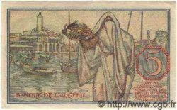 5 Francs ALGÉRIE  1944 P.094b SUP
