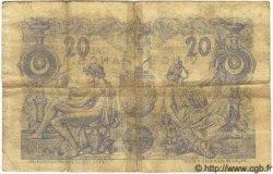 20 Francs ALGÉRIE  1887 P.007 B