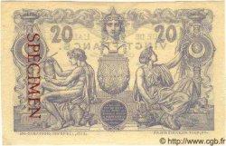 20 Francs ALGÉRIE  1910 P.008s SPL