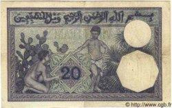 20 Francs ALGÉRIE  1914 P.009 TB+