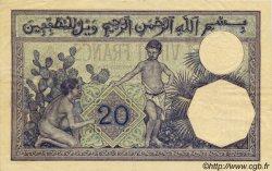 20 Francs ALGÉRIE  1920 P.078a TTB+