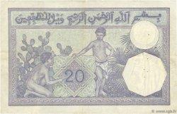 20 Francs ALGÉRIE  1921 P.078a