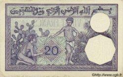 20 Francs ALGÉRIE  1929 P.078b TTB+