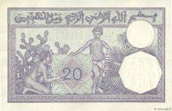 20 Francs ALGÉRIE  1929 P.078b SUP