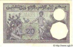 20 Francs ALGÉRIE  1938 P.009 SPL