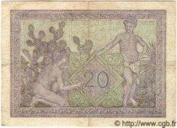 20 Francs ALGÉRIE  1943 P.010 TB+