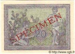 20 Francs ALGÉRIE  1944 P.092s NEUF