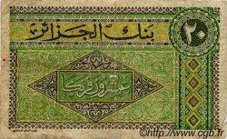 20 Francs ALGÉRIE  1948 P.012 B+