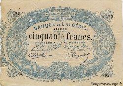 50 Francs ALGÉRIE  1904 P.073x