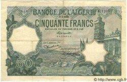50 Francs ALGÉRIE  1933 P.015 TTB