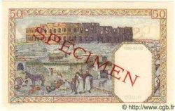 50 Francs ALGÉRIE  1944 P.087s pr.NEUF