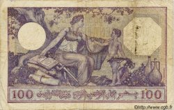 100 Francs ALGÉRIE  1933 P.019 pr.TB