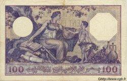 100 Francs ALGÉRIE  1933 P.019 TB+