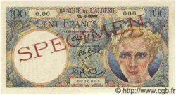 100 Francs ALGÉRIE  1944 P.020As NEUF