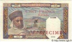 100 Francs ALGÉRIE  1938 P.085s SPL