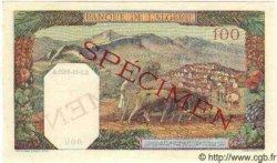 100 Francs ALGÉRIE  1942 P.088s NEUF