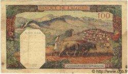 100 Francs ALGÉRIE  1942 P.020b TTB