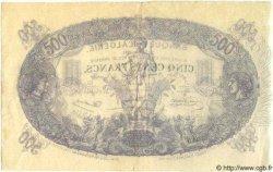 500 Francs ALGÉRIE  1924 P.022 TTB+