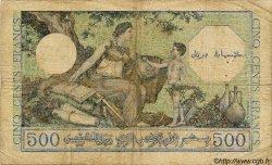 500 Francs ALGÉRIE  1943 P.024 B