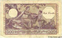 500 Francs ALGÉRIE  1944 P.095 TB