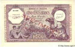 500 Francs ALGÉRIE  1944 P.095s NEUF