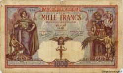 1000 Francs ALGÉRIE  1926 P.029 B
