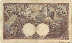 1000 Francs ALGÉRIE  1926 P.029 TB