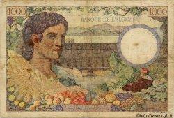 1000 Francs ALGÉRIE  1942 P.030b TB