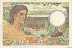 1000 Francs ALGÉRIE  1942 P.089 TTB